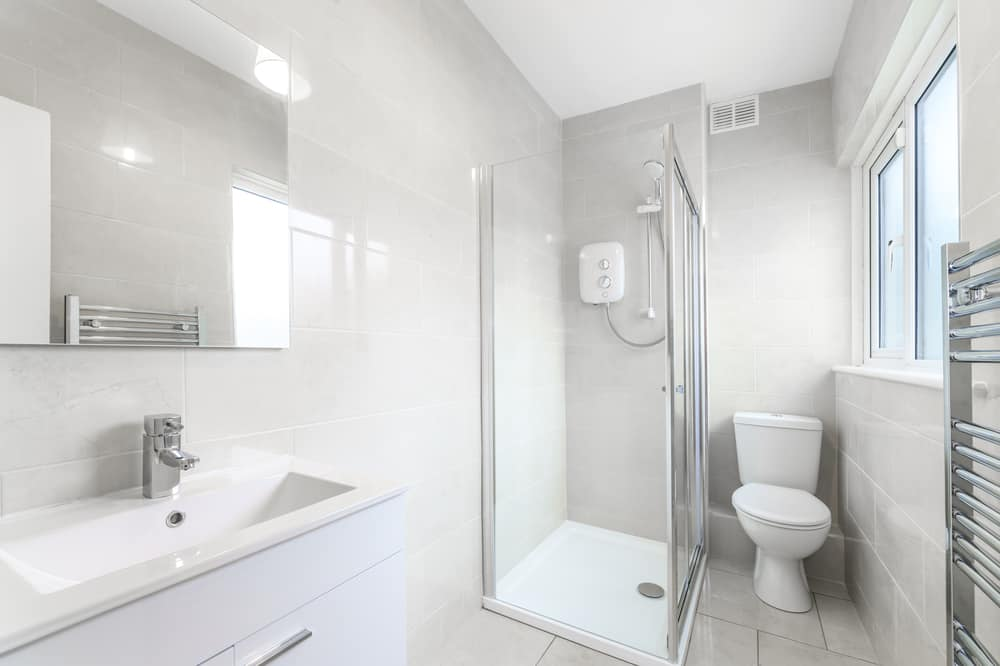 small remodeled bathroom