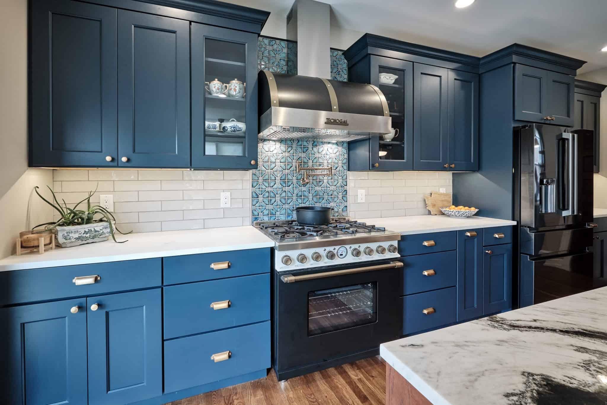 Colorful Kitchen remodel in Philadelphia PA