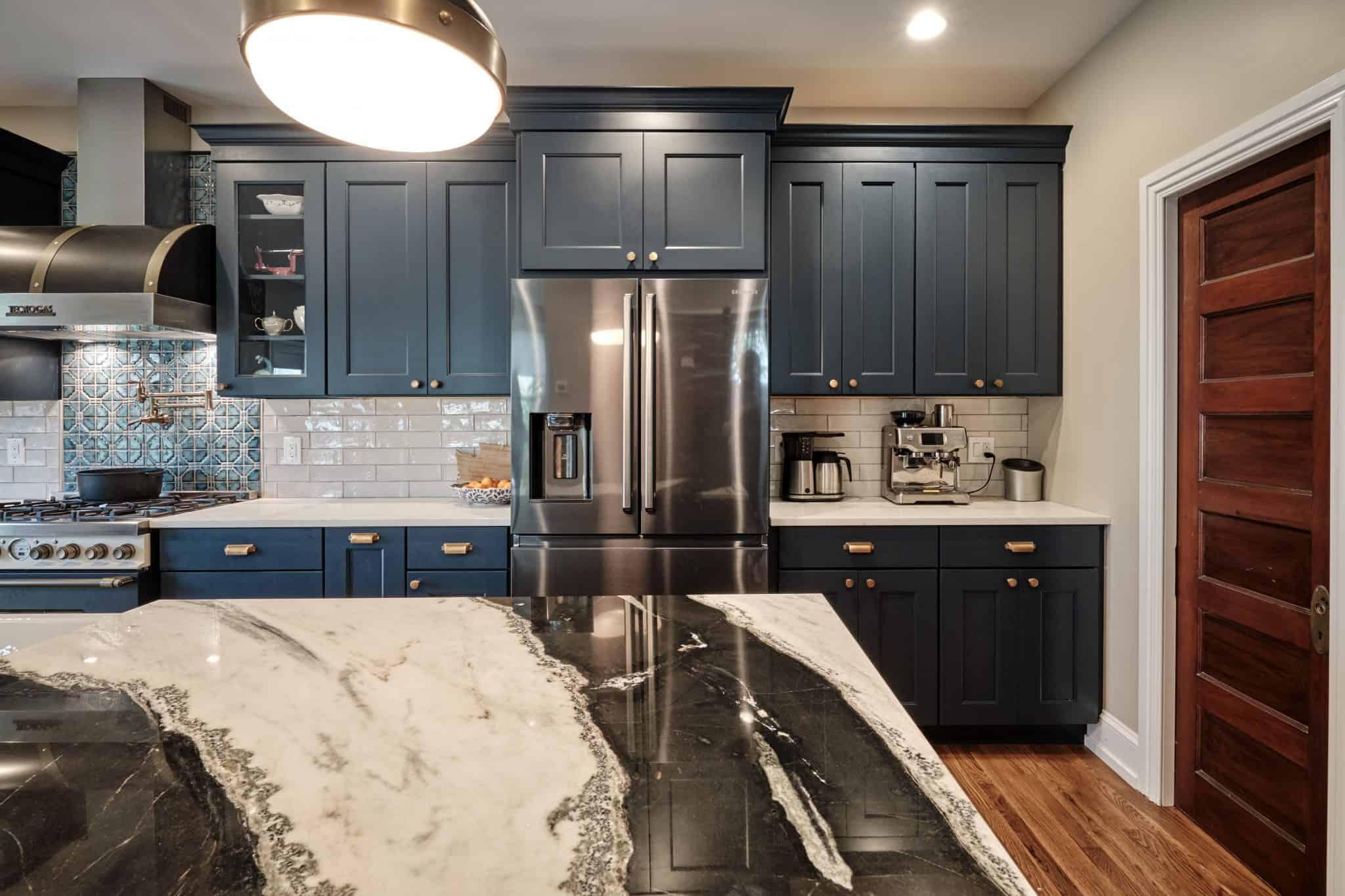 Colorful Kitchen Idea Bucks County PA