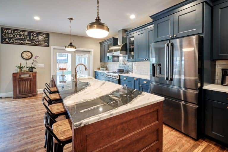 Kitchen Remodel in a Philadelphia Row Home