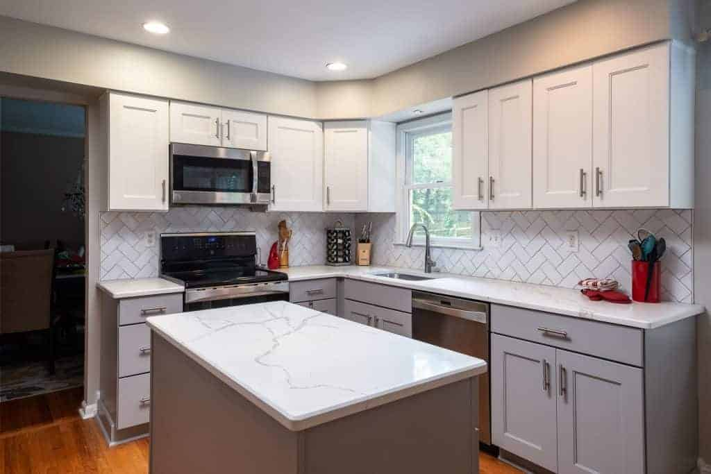 Contemporary Kitchen Remodel Bucks County PA
