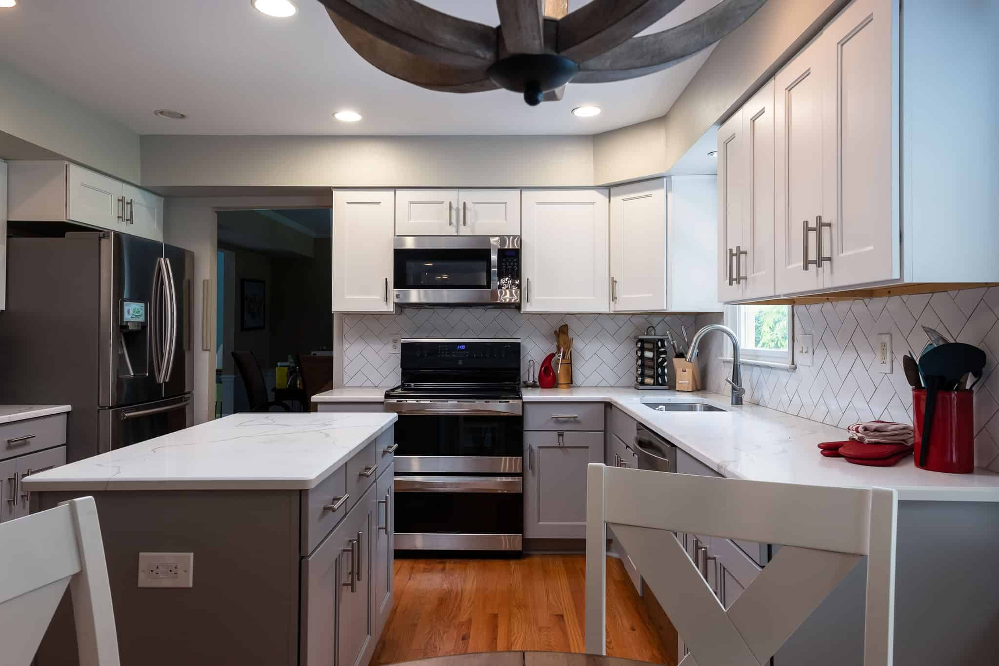 Contemporary Kitchen Remodel Bucks County PA